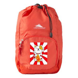 Lucky cat (A) High Sierra Backpack