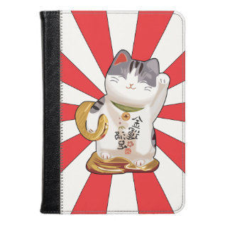 Lucky Cat B Kindle Case at Zazzle