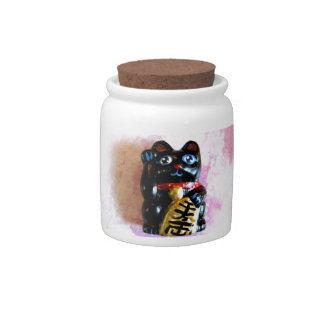 Lucky Cat Candy Dish