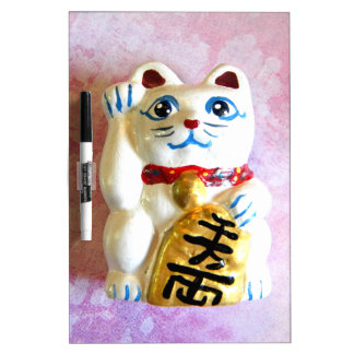 Lucky Cat Dry Erase Board