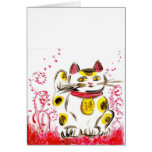 Lucky Cat Greeting Cards