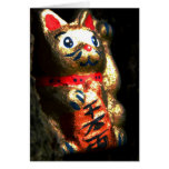 Lucky Cat in Bark Cards