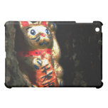 Lucky Cat in Bark Case For The iPad Mini