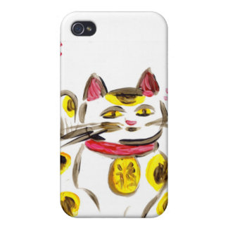 Lucky Cat iPhone 4/4S Cases