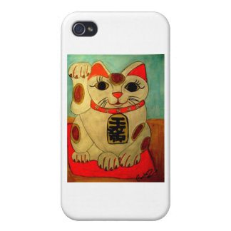 Lucky Cat iPhone 4/4S Cover