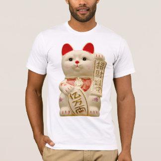 Lucky Cat Japanese Good Luck Waving Cat T-Shirt