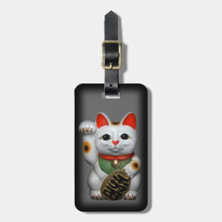 Lucky Cat Travel Bag Tag
