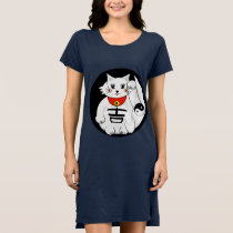 Lucky Cat- Maneki Neko - Beckoning. Dress