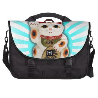 Lucky Cat (Maneki-neko) Laptop Messenger Bag