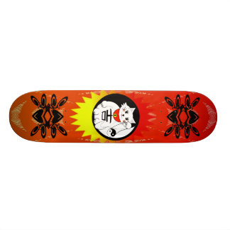 Lucky Cat  - Maneki Neko means Beckoning Cat Skateboard Deck