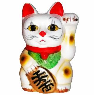 Lucky Cat Maneki Neko Statuette