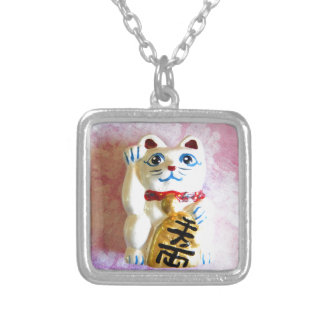 Lucky Cat Custom Necklace