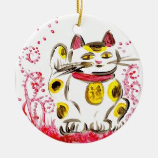 Lucky Cat Ornament