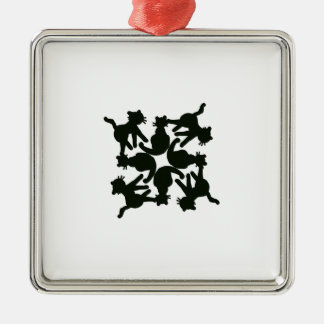 lucky cat pattern,cat picture art metal ornament