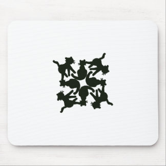 lucky cat pattern,cat picture art mouse pad