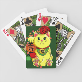 Lucky Cat Playing Cards