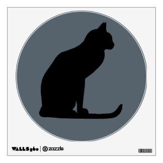 Lucky Cat Portrait Wall Sticker