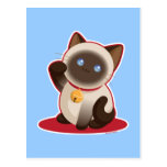 Lucky Cat Post Card