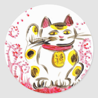 Lucky Cat Stickers