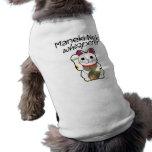 Lucky Cat Whisperer Dog Tshirt