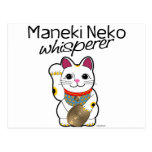 Lucky Cat Whisperer Postcard