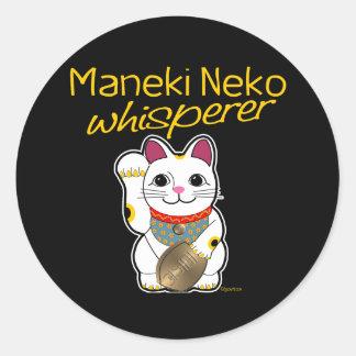 Lucky Cat Whisperer Stickers