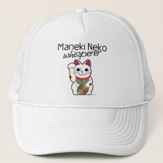 Lucky Cat Whisperer Trucker Hat