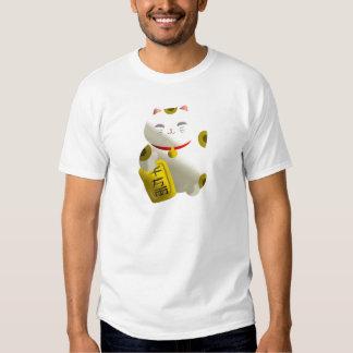 Lucky Cat White T Shirt