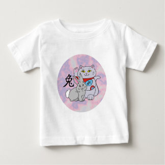 Lucky Cat Year of the Rabbit T-shirts