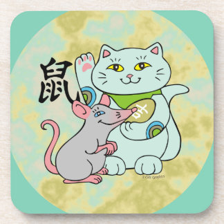 Lucky Cat Year of the Rat Coaster