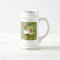 Lucky Cat Year of the Sheep Beer Stein