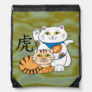 Lucky Cat Year of the Tiger Backpack