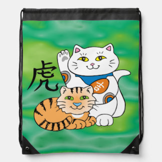 Lucky Cat Year of the Tiger Cinch Bag
