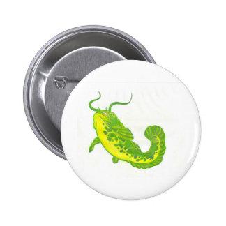 Lucky Catfish Button