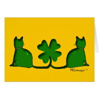 Lucky Cats Card