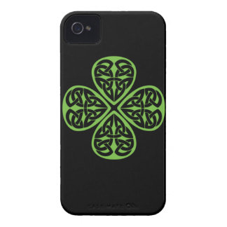 Lucky Celtic Design 4 leaf shamrock iphone4 Case-Mate iPhone 4 Case