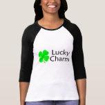 Lucky Charm 4 Leaf Clover Tee Shirts
