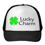 Lucky Charm 4 Leaf Clover Trucker Hat