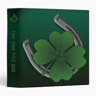 Lucky Charm Binder Personalized Lucky Binder Album
