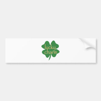 Lucky Charm Bumper Stickers