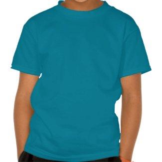 """Lucky charm extraordinaire"" seahorse kid t-shirt"