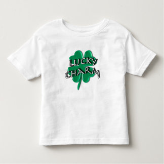 Lucky Charm - Four Leaf Clover Toddler T-shirt