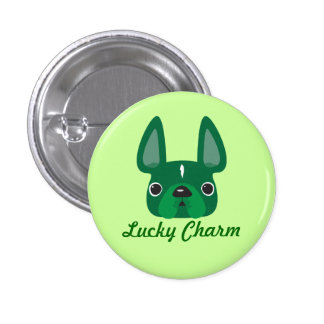 Lucky Charm Frenchie Pin