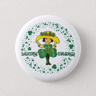 Lucky Charm. Fun St. Patrick's Day Gift Buttons