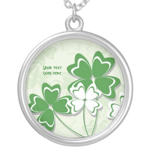 Lucky charm Irish clover shamrock St. Patricks Day Jewelry