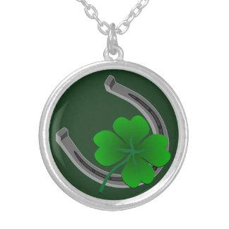 Lucky Charm Necklace Lucky St Patrick's Necklace