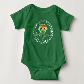 Lucky Charm. St. Patrick's Day Baby Bodysuit
