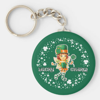 Lucky Charm. St. Patrick's Day Gift Keychains