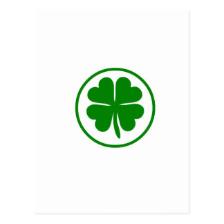 Lucky Charm St. Patrick's day Postcard