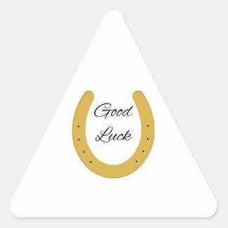 Lucky Charm Triangle Sticker